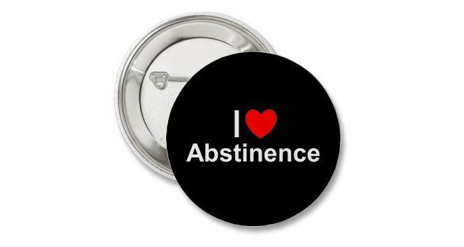 Abstinence-pin
