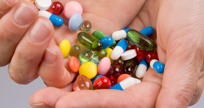 Pills-in-hand