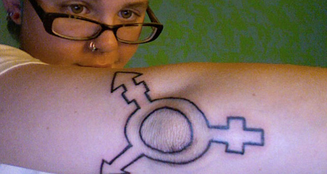 Transgender-symbol-tattoo