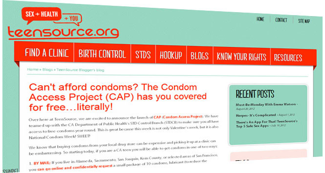 California's Condom Access Project