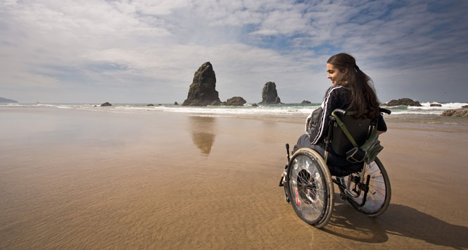 Girl-in-wheelchair-on-adventure