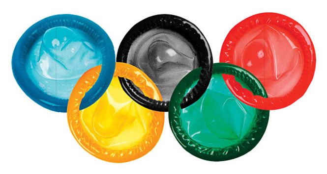 Olympic-condoms