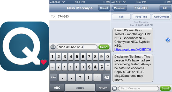LA Teens Can Share STD Status Via Text With Qpid.me