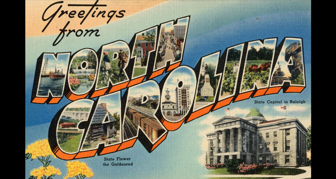 Greetings-from-North-Carolina-Postcard
