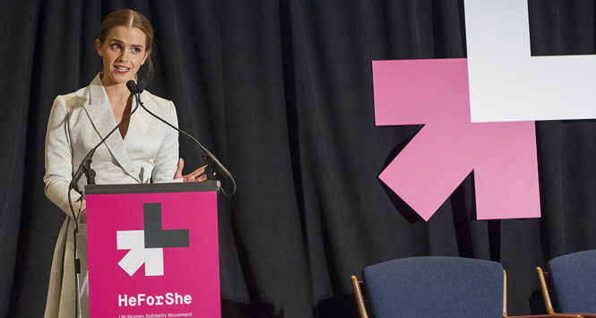 Emma Watson Wants Guys to Fight for Gender Equality