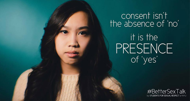 NYU Students Start #BetterSexTalk Campaign