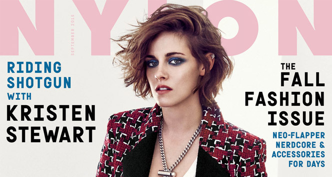 NYLON Kristen Stewart Sexual Orientation Sexuality