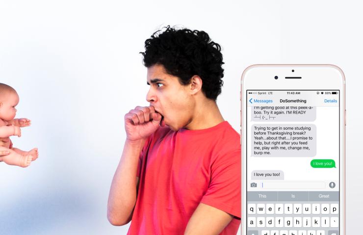 Pregnancy SMS DoSomething
