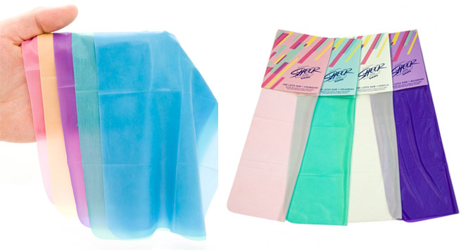 dental dams, sheer