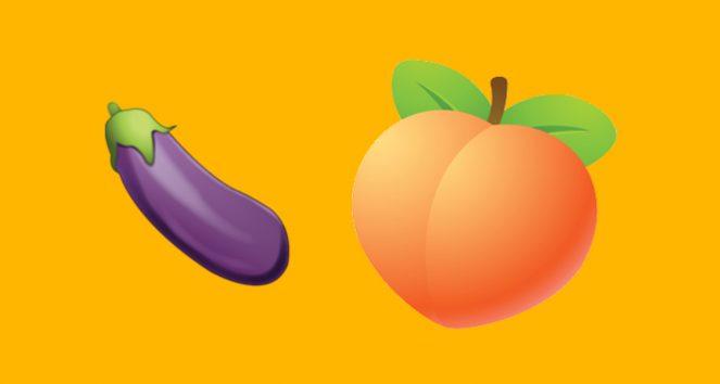 anal sex, eggplant, emoji